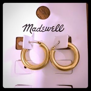 Gold Hoops | Madewell